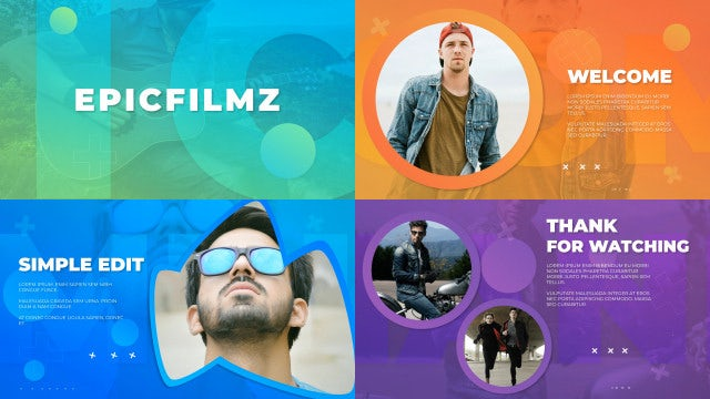 Slideshow Fresh Opener: After Effects Templates