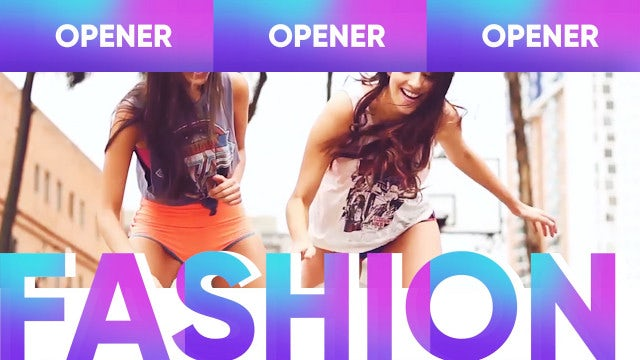 Future Fashion Promo: Premiere Pro Templates