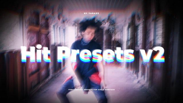 Hit Presets V2: Premiere Pro Presets