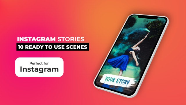 Instagram Stories Pack V9: After Effects Templates