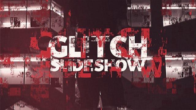 Glitch Slideshow: Premiere Pro Templates