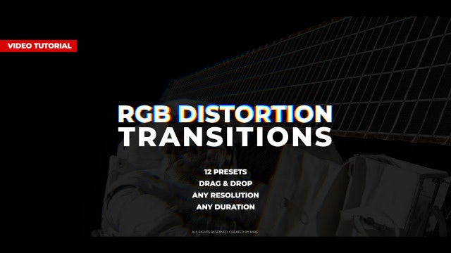 RGB Distortion Transitions: Premiere Pro Presets