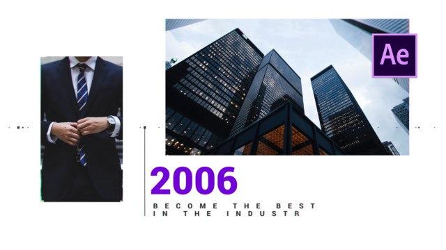 Timeline Slideshow: After Effects Templates