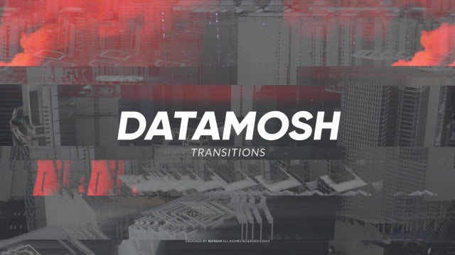 Datamosh Transitions: Premiere Pro Presets