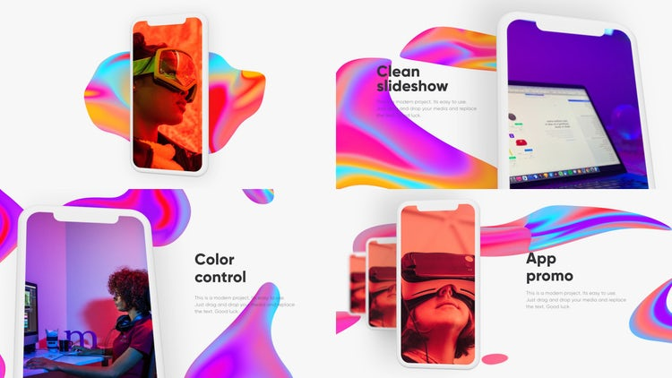 Mobile App Promo: Premiere Pro Templates