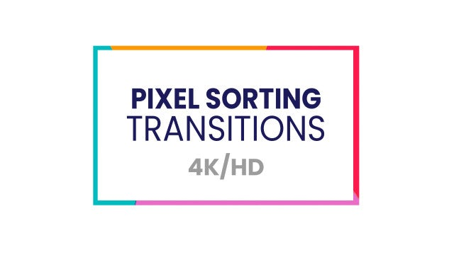 After Effects AE Pixel Sorter Tool Tutorial Design After effects
