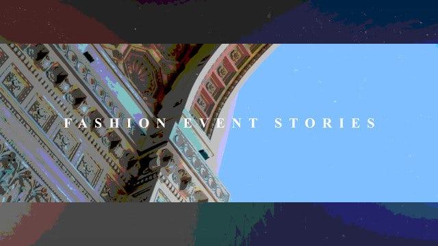 Fashion Event Stories: Premiere Pro Templates