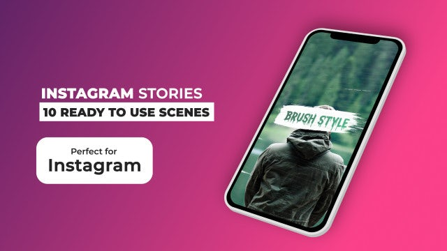 Instagram Stories Pack V10: After Effects Templates