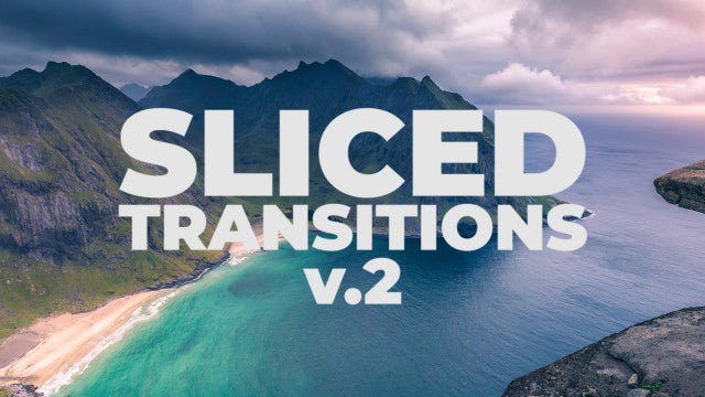 Sliced Transitions V.2: Premiere Pro Presets