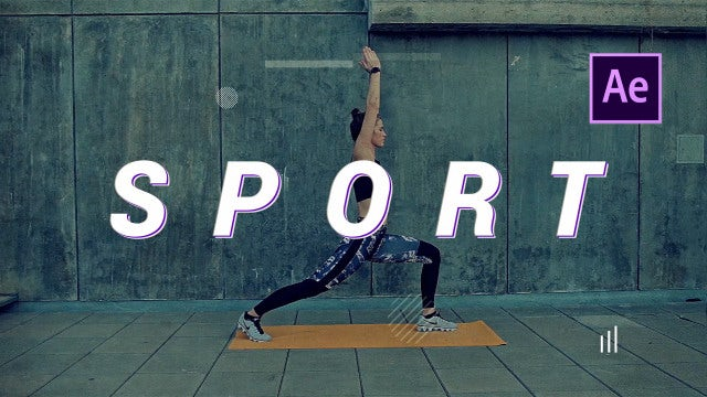 Sport Cinematic Opener: After Effects Templates