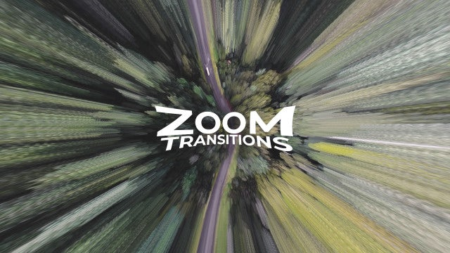 Zoom Transitions - Premiere Pro Presets | Motion Array