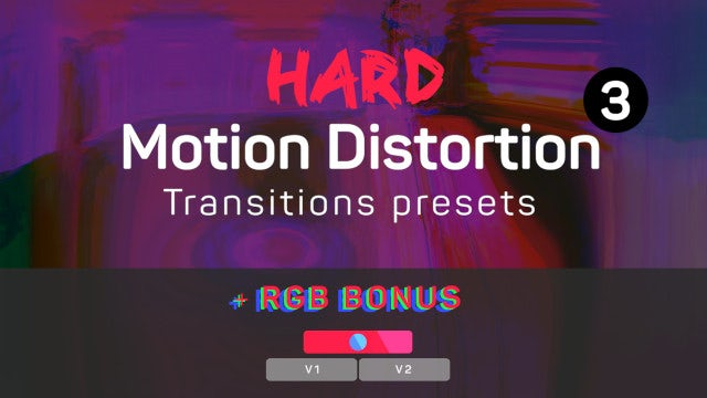 Hard Motion Distortion Transitions Presets 3: Premiere Pro Presets