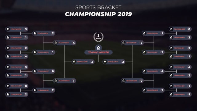 Sports Bracket: After Effects Templates