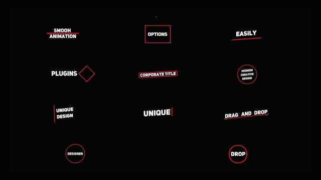 Dynamic Title: Motion Graphics Templates