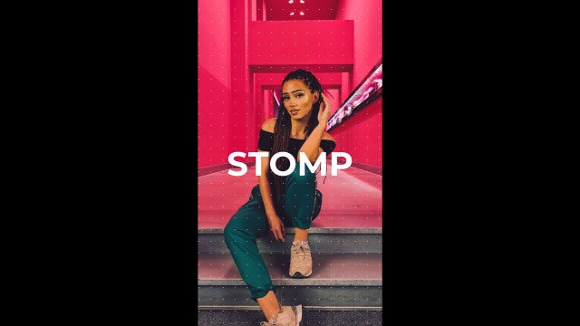 Instagram Stomp: DaVinci Resolve Templates