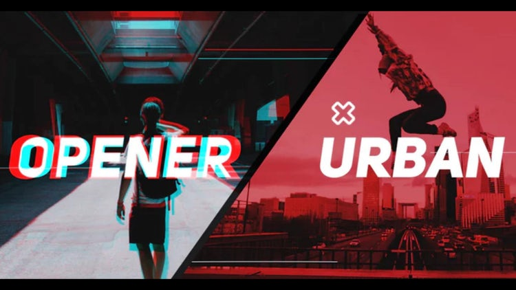 Stylish Urban Promo: After Effects Templates