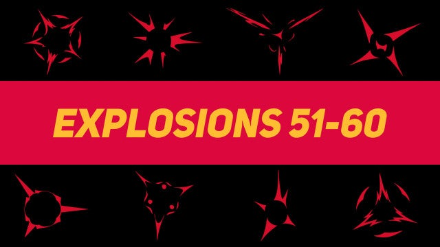 Liquid Elements Explosions 51-60: Motion Graphics Templates