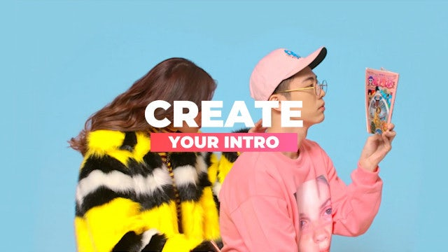 Fashion Media Opener Slideshow: Premiere Pro Templates