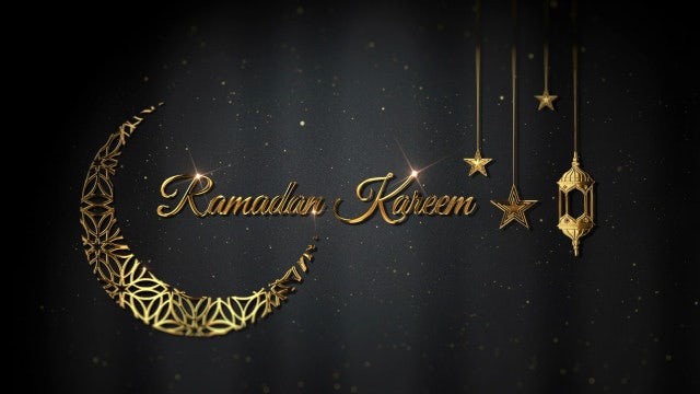 Ramadan Kareem: Stock Motion Graphics