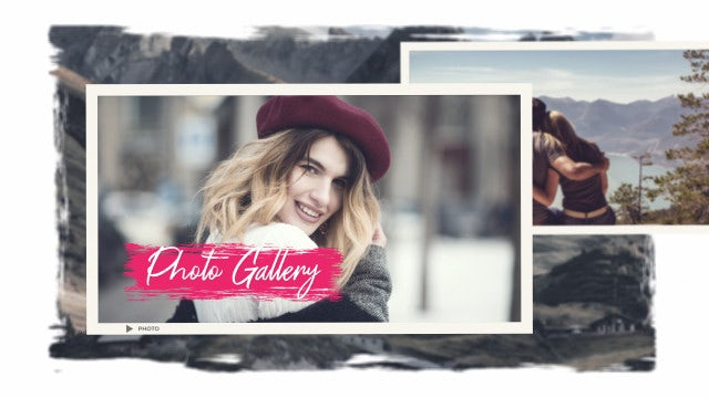 Family Photo Gallery: After Effects Templates