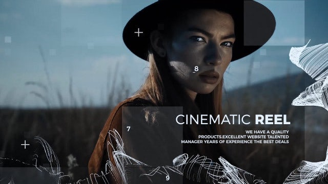 Demo Reel: Premiere Pro Templates