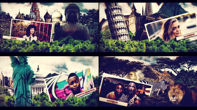 World Travel: After Effects Templates