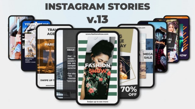 Instagram Stories V.13: After Effects Templates