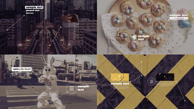 Minimal Callout Titles: After Effects Templates