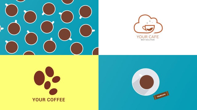 Coffee Infographics Pack: After Effects Templates