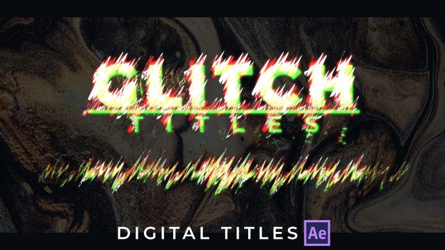 Digital Titles: After Effects Templates