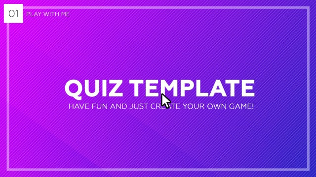 Quiz / Trivia Template: After Effects Templates
