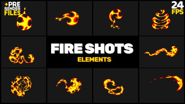 Fire Shots Pack: Stock Motion Graphics