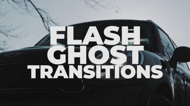 Flash Ghost Transitions: Premiere Pro Presets