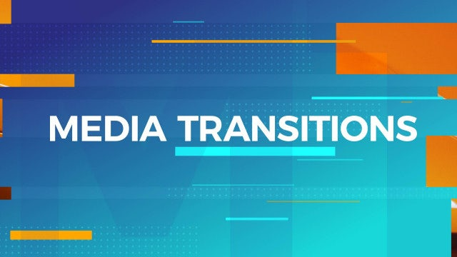 Media Transitions: After Effects Templates