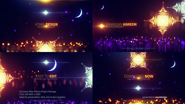 Ramadan - Islamic Titles: After Effects Templates