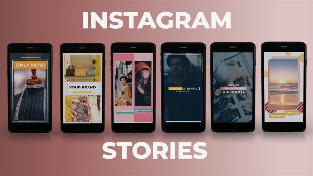 Instagram Stories 3: After Effects Templates