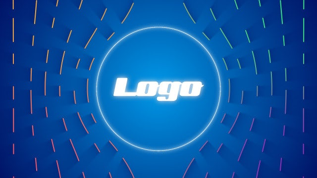 Multicolor Logo: After Effects Templates