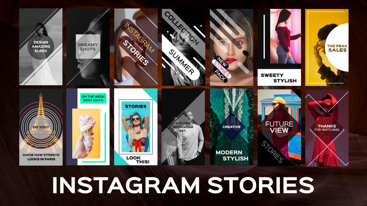 Instagram Stories - Premiere Pro Templates | Motion Array