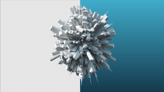 World Of Buildings - Looping: Stock Motion Graphics