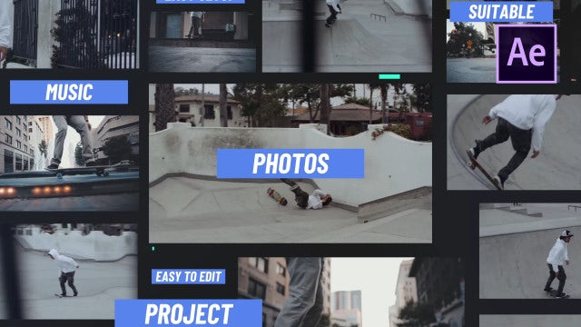 Request Slideshow: After Effects Templates