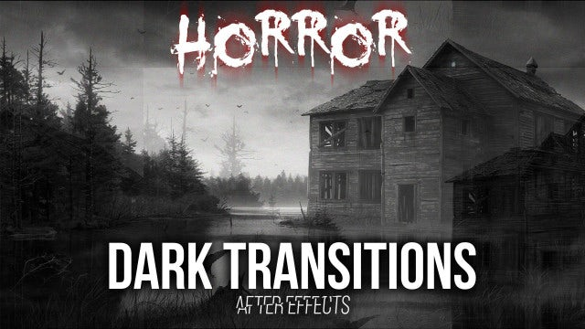 Dark Transitions: After Effects Presets