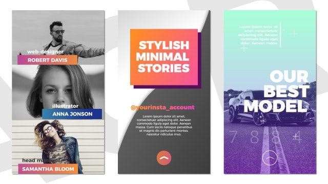 Trendy Instagram Stories: Premiere Pro Templates