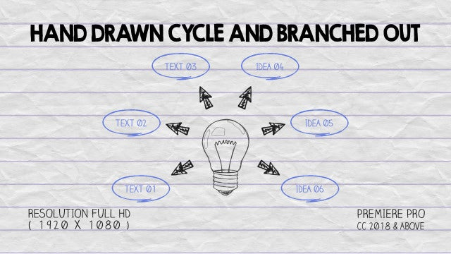 Hand Drawn Cycles: Motion Graphics Templates