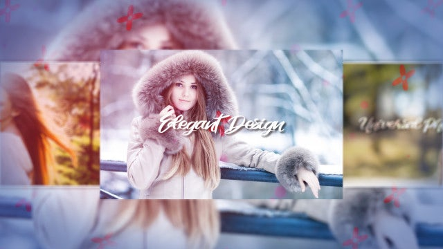 Universal Photo Slideshow: After Effects Templates