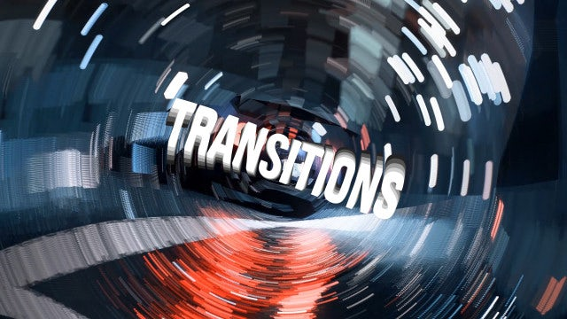 Particles Transitions: After Effects Presets