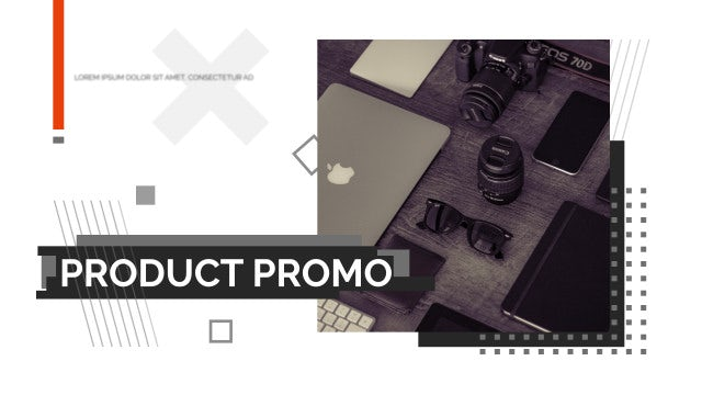 Glitch Product Promo: After Effects Templates