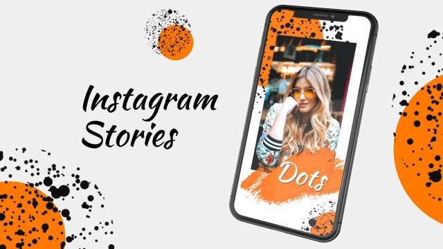 Instagram Stories Dots: After Effects Templates