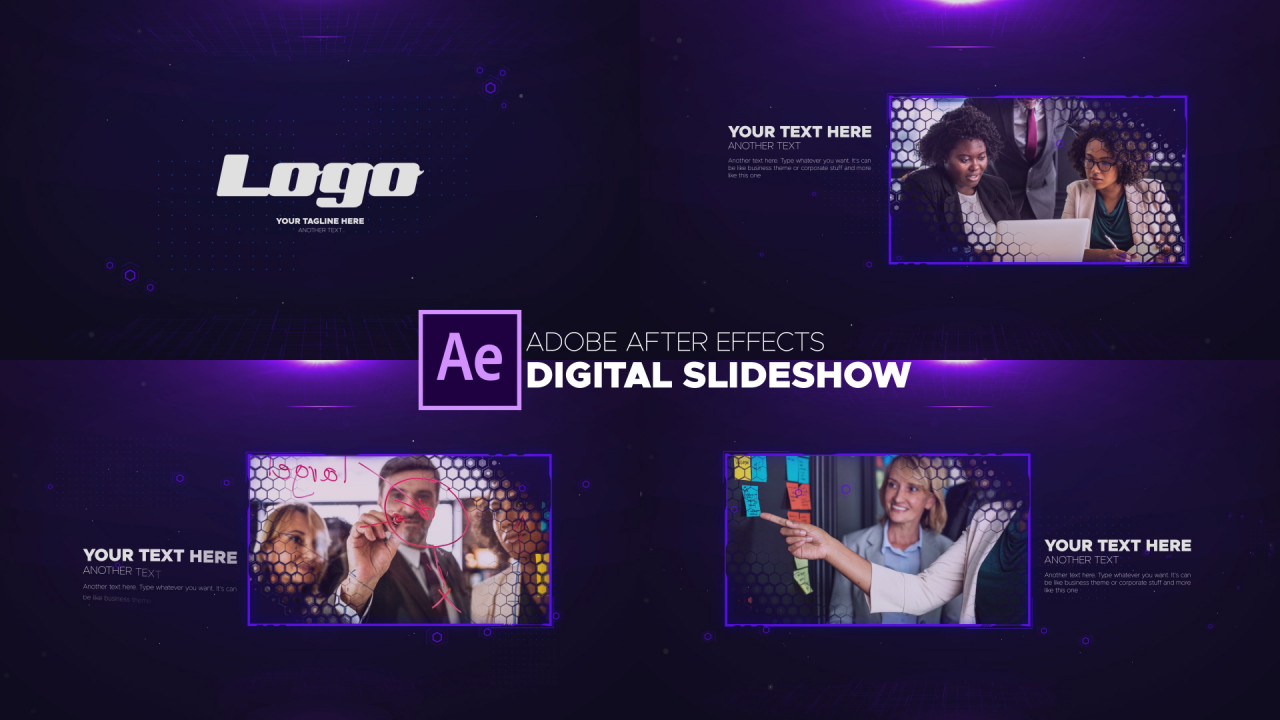 Digital Slideshow - After Effects Templates   Motion Array