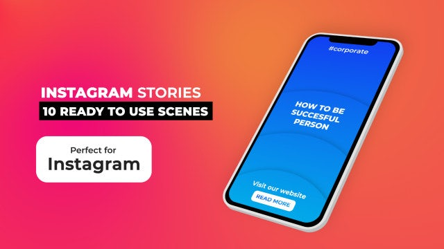 Instagram Stories Pack V10.1: After Effects Templates