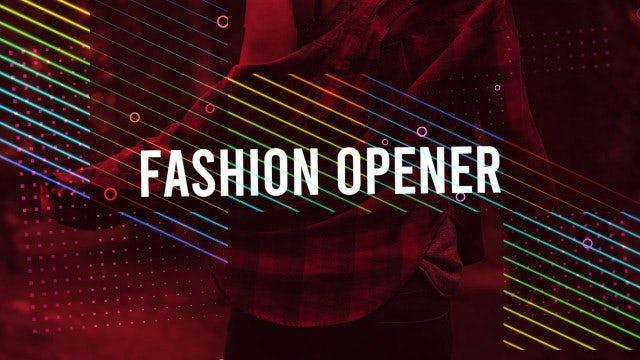 Fashion Intro: Premiere Pro Templates